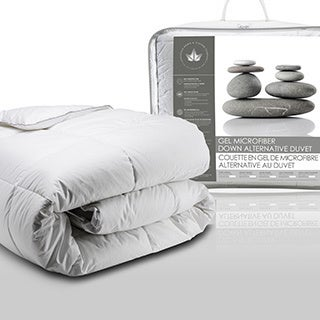 Canadian Down and Feather Gel Microfiber Down Alternative Comforter