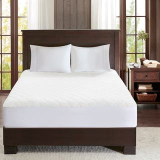Woolrich Sherpa Heated White Mattress Pad|https://ak1.ostkcdn.com/images/products/12493118/P19302602.jpg?impolicy=medium