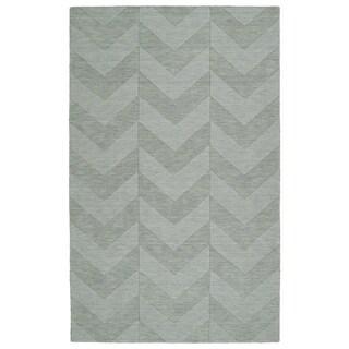 Trends Spa Chevron Wool Rug - 2' x 3'