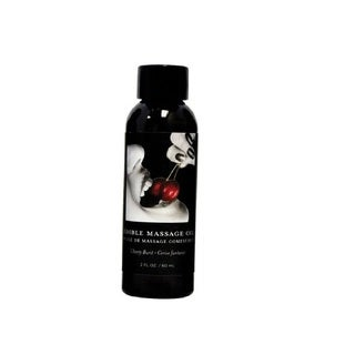 Earthly Body 2-ounce Edible Massage Oil Cherry Burst
