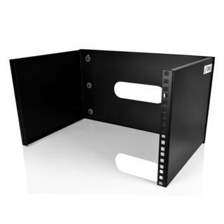 Pyle PLRSTN28U 6U Wall Mount Server Rack, Patch Panel Shelf Bracket