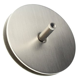 "Ultra Hardware 59169 2-1/8"" Satin Nickel Hole Cover Plate"
