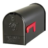 Solar Group E11B Black Elite Premium Steel Mailbox