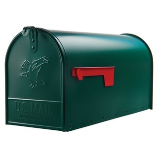 Solar Group E16G Large Green Rural Size Mailbox