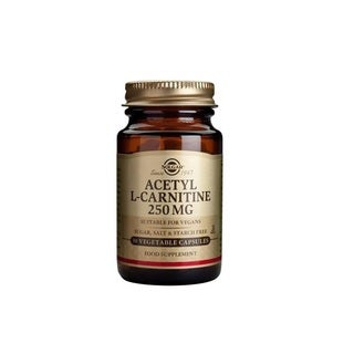 Solgar L-Carnitine 250-milligram Free Form Supplement (90 Vegetable Capsules)