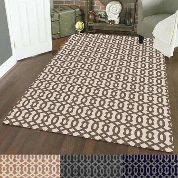 Admire Home Living Bronte Link Area Rug (7'10 x 10'6)