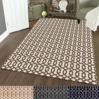 Admire Home Living Bronte Link Area Rug (5'3 x 7'3)