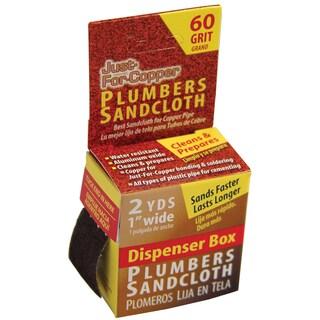 "Jaco 31089 2 Yd X 1"" W Plumbers Sandcloth"