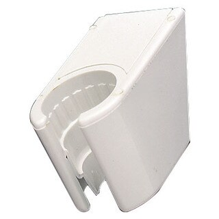Plumb Craft Waxman 7657600B White Wall Mount Shower Bracket