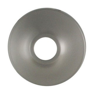 "LDR 507-8101BN 3/8"" x 1/2"" Brushed Nickel Finish Wall Flanges"