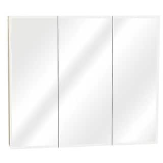 Zenith M30 White Tri-View Mirror Medicine Cabinet