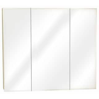 Zenith M36 White Tri-View Mirror Medicine Cabinet