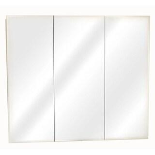 Zenith M48 White Tri-View Mirror Medicine Cabinet
