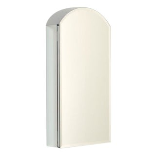 Zenith MAA1530 Medicine Cabinet With A Beveled Reversible Arch Mirror