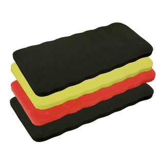 Good Old Values Foam Rubber 7-inch x 15-inch Kneeling Pad and Seat Cushion (Pack of 4)
