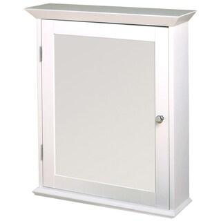 Zenith WW2026 White Classic Medicine Wall Cabinet