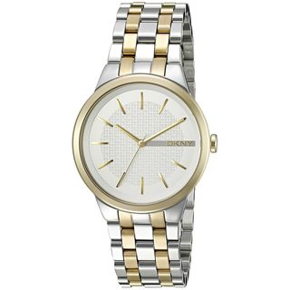 DKNY Women's NY2463 'Park Slope' Two-Tone Stainless Steel Watch