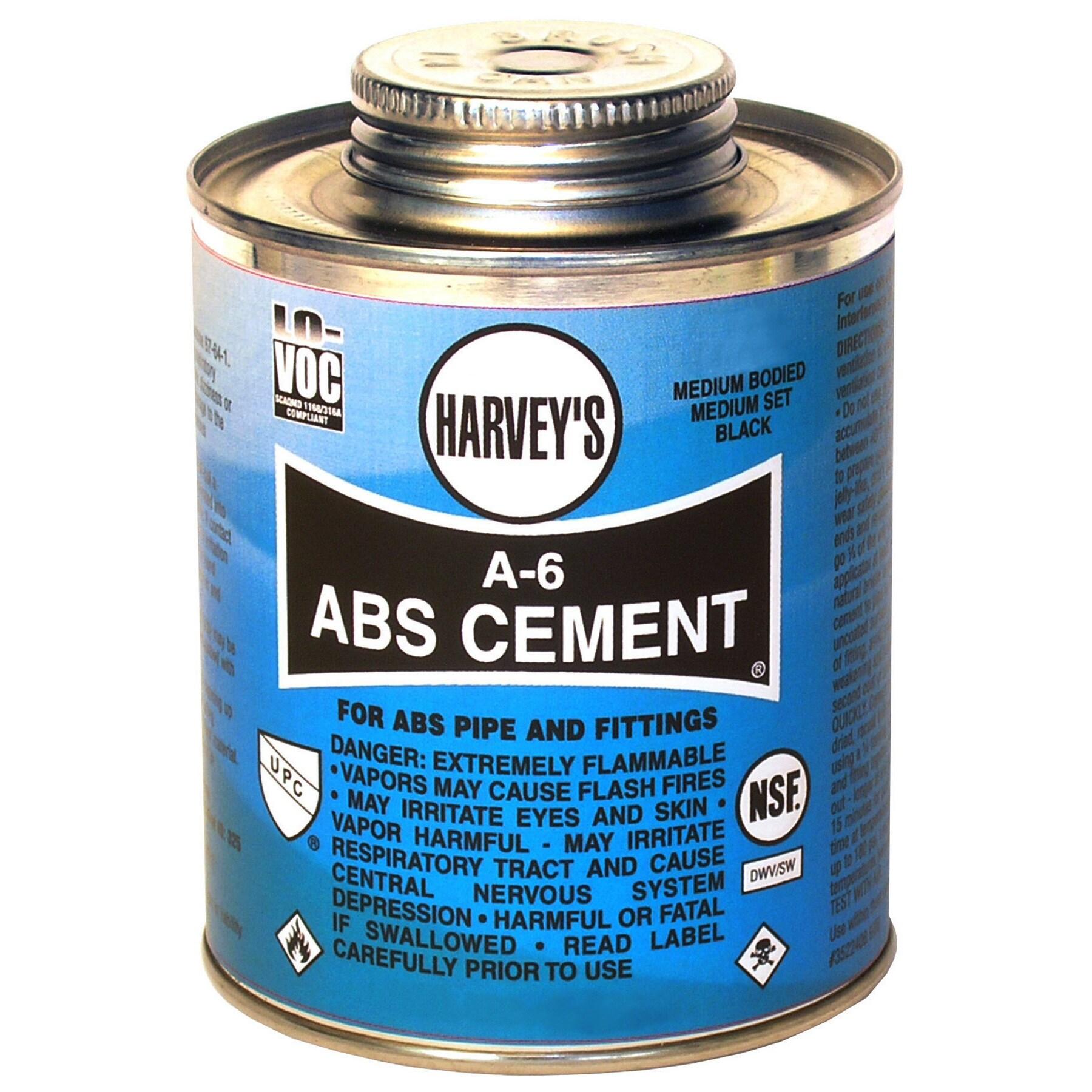 WM Harvey 018510-24 1/2 Pint Black A-6 Medium Bodied ABS ...