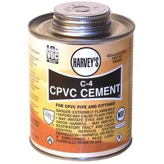 WM Harvey 018710-24 1/2 Pint Orange C-4 Regular Bodied CPVC Cement
