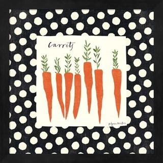 Susy Pilgrim Waters 'Simple Carrots SP' Framed Art