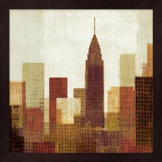 Mo Mullan 'Summer in the City III' Framed Art