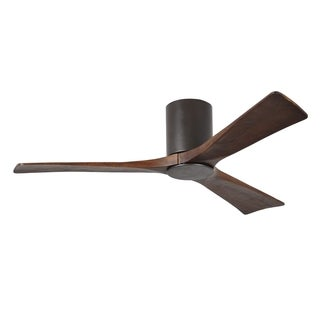 Matthews Fan Company Irene 3-blade 52-inch Textured Bronze Hugger Paddle Fan With Light Kit