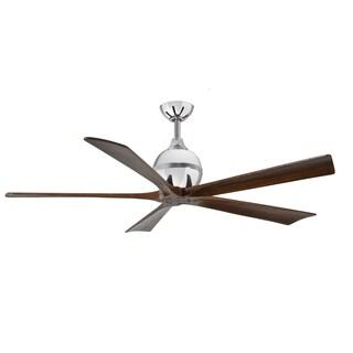 Matthews Fan Company Irene 5-blade 60-inch Polished Chrome Paddle Fan