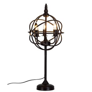 Somette Steampunk Bronze Table Lamp