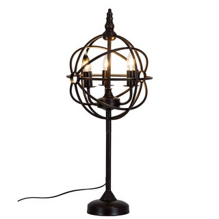 Bombay Steampunk Bronze Table Lamp
