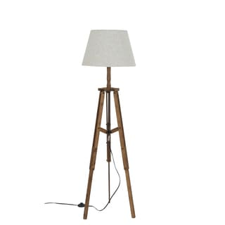 Bombay Steampunk Reclaimed Wood 59 inch Floor Lamp
