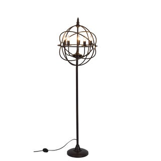 Somette Steampunk Bronze 63-inch Floor Lamp