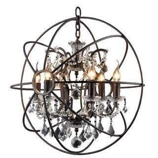 Y-Decor Rustic Black Orb 6-light Circular Foyer Chandelier|https://ak1.ostkcdn.com/images/products/12494127/P19303493.jpg?impolicy=medium