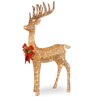 Link to Pre-lit 48-inch Standing Reindeer Similar Items in Christmas Decorations