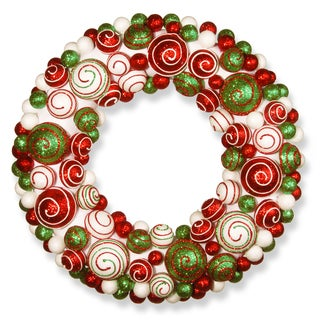 20-inch Ornament Wreath