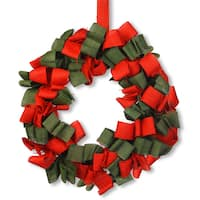 Red/Green 20-inch Holiday Wreath