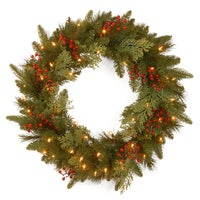 Wood Christmas Wreaths, Swags, and Boughs