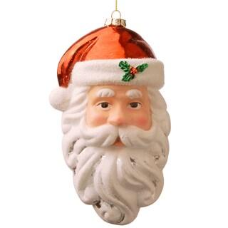 10-inch Santa Ornament Set