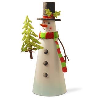 Metal 12-inch Snowman|https://ak1.ostkcdn.com/images/products/12494260/P19303606.jpg?impolicy=medium