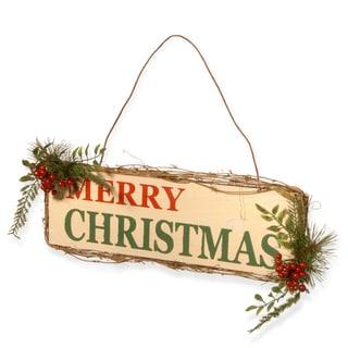 21-inch 'Merry Christmas' Door Sign
