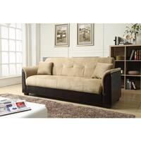 Nathanial Home Melanie Champion Storage Futon Sofa Bed