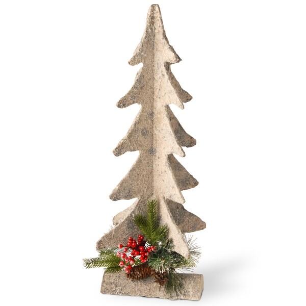 Polyfoam 30inch Christmas Tree Figurine Free Shipping On