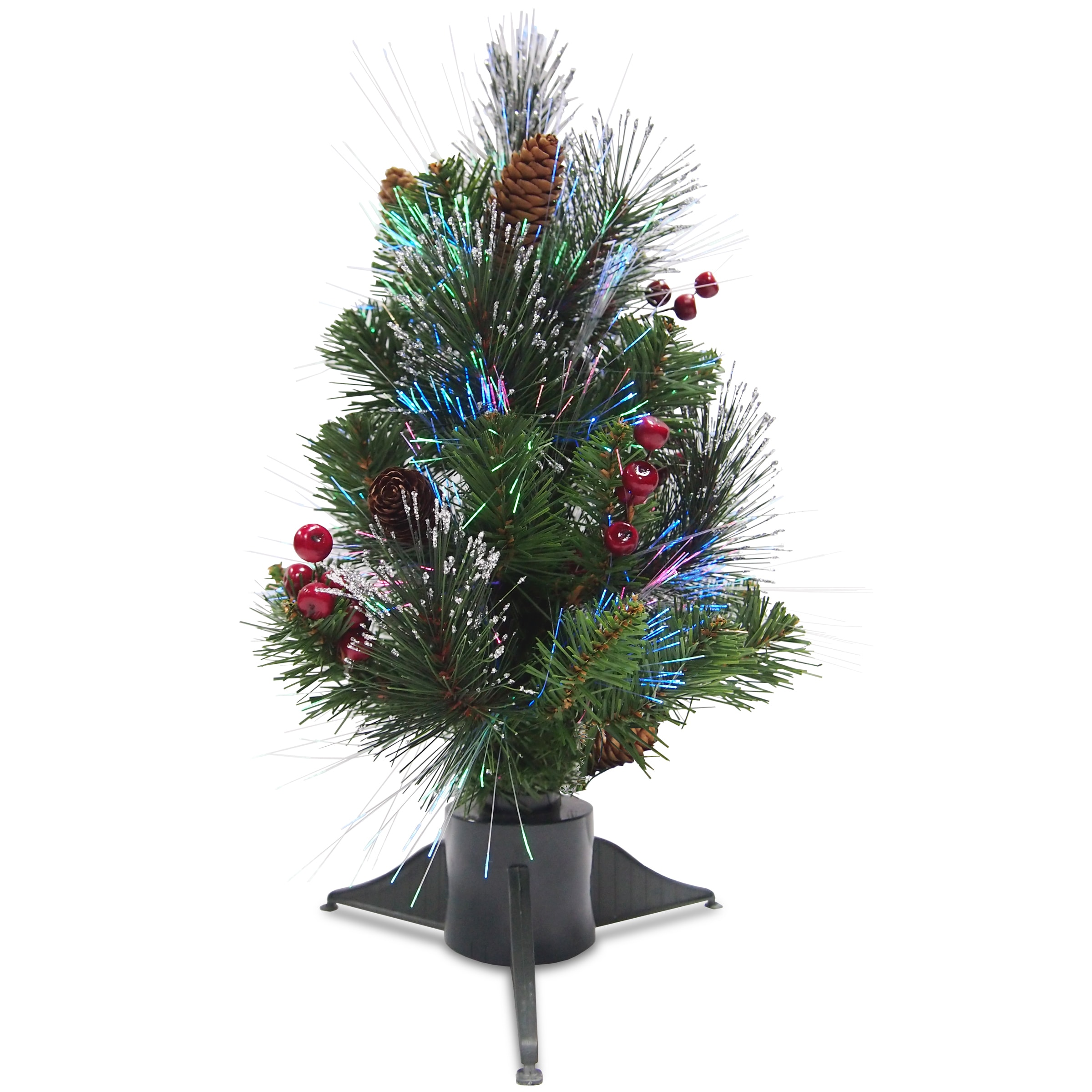 National Tree 18-inch Artificial Crestwood Spruce Tree wi...