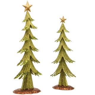 Metal Christmas Tree Set