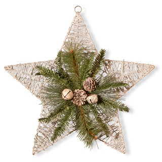 Multicolor Wire Frame 18-inch Indoor/Outdoor Holiday Star Decoration