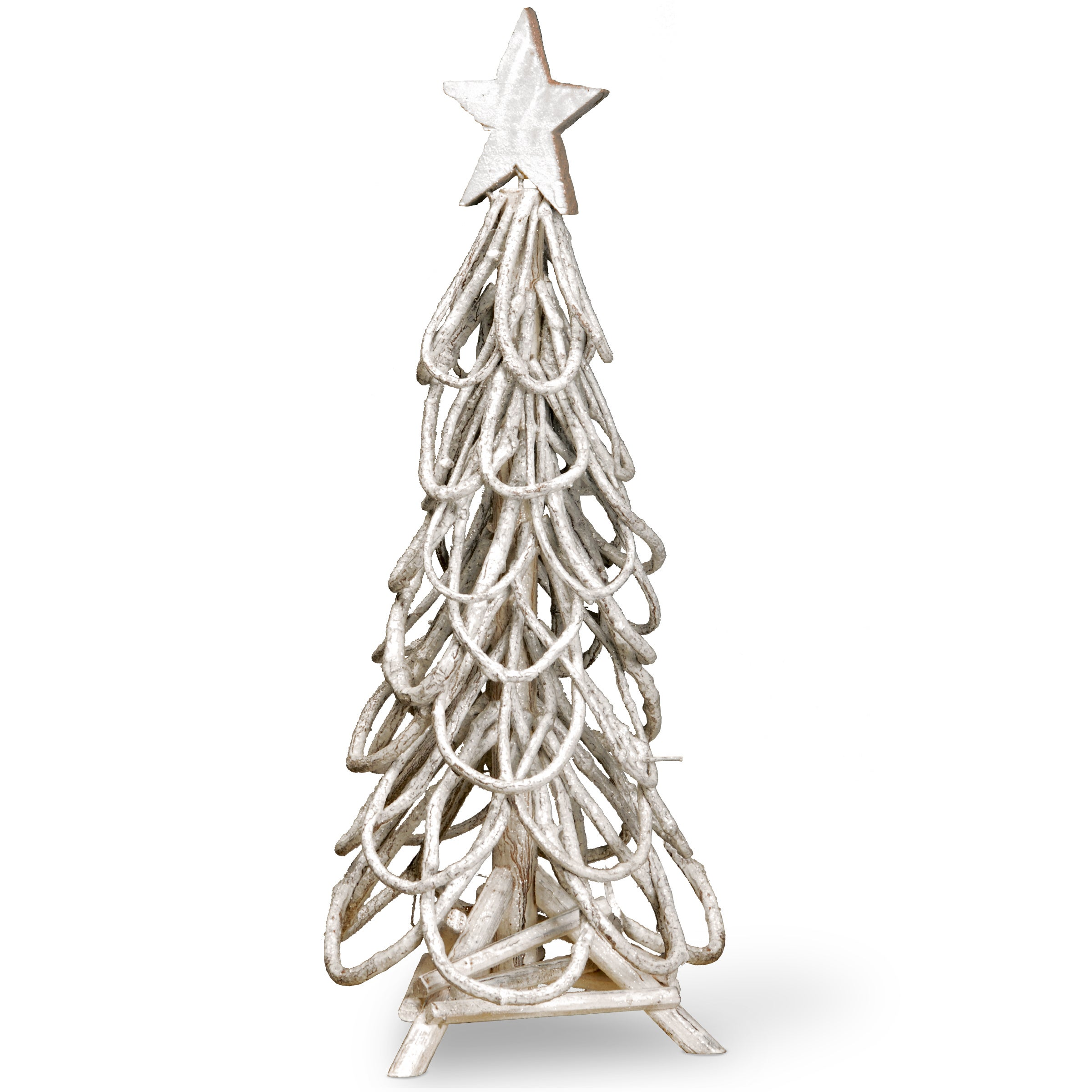 Natural Wood And Twig Branches 24 Inches Christmas Tree Decoration Overstock 12494349