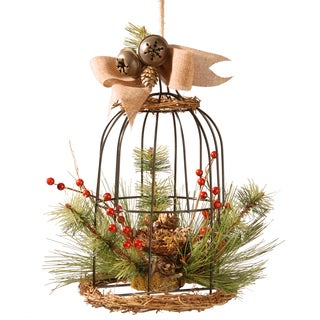 13-inch Bird Cage Decor