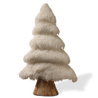 20-inch White Christmas Tree Decoration