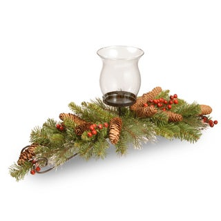 Crestwood Spruce 30-inch Centerpiece and Candle Holder