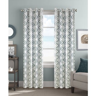 Colordrift Christina 84-inch Grommet-op Single Curtain Panel