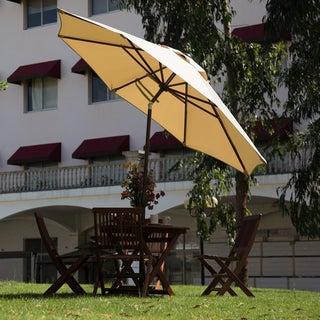 Abba 11 ft. Octagon Patio Umbrella with Adjustable Tilt Aluminum Frame
